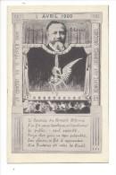 12080 - Concert Colonne 1 Avril 1909  Le Concert Est Aux Colonnes Grecques Voir Scan Verso - Musique Et Musiciens