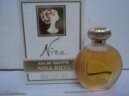 "NINA RICCI ""NINA "" MINI EDT 6 ML ""    LIRE ET VOIR !! - Miniatures Femmes (avec Boite)"