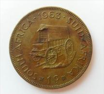 SUDAFRICA 1 CENTS 1963 - Sud Africa