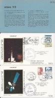 ARIANE L8  Jeu De 2 Enveloppes AP CNES  + Pochette Bleue - Zonder Classificatie