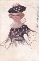 OCCHIPINTI DONNA VG 1922 AUTENTICA 100% - Illustratori & Fotografie
