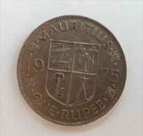 MAURITIUS 1 RUPEE 1975 - Mauritius