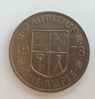 MAURITIUS 1 RUPEE 1978 - Mauritius