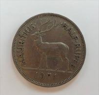 MAURITIUS 1/2 RUPEE 1971 - Mauritius