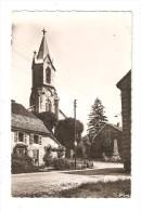 CPA 90 - Fesche L'Eglise : Eglise Catholique & Monument Aux Morts : Maisons - Eglise - Monument - France