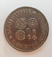 MAURITIUS 1/4 RUPEE 1975 - Mauritius