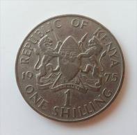 KENIA 1 SHILLING 1975 - Kenia