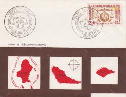 Wallis Et Futuna 1963  Human Rights FDC - FDC
