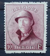 BELGIE   1919    nr. 178  met keurmerk, centraal gestempeld      CW  170,00