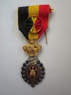 Médaille Du Travail De Première Classe (30 Ans De Travail) - Belgique