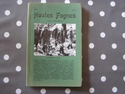 HAUTES FAGNES N° 2 / 1977 Régionalisme Belgique Nature Fagne Ardenne Botanique Animaux Eau Anomalies Magnétiques - Cultuur