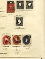 Autriche avec Feldpost, Italie, Roumanie,Turquie, collection timbres anciens sur feuilles,  cote > 1300� ( lot 1505)