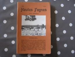 HAUTES FAGNES N° 3 / 1979 Régionalisme Belgique Nature Fagne Ardenne Le Boqueteau Cigogne Noire Elsenborn Forêt - Belgique