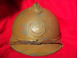 Casque adrian fran�ais zouave tirailleur africain spahi guerre 14 18 - french adrian helmet ww1