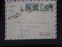 FRANCE-ALGERIE Détaillons Collection  LETTRE DE TIZI OUZOU¨POUR L ESPAGNE 1957  A VOIR GRIFFE AFF VERIFIE LOT P2807 - Algeria (1924-1962)