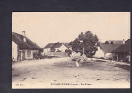 Aiglepierre  (39) - La Place ( Fontaine Ed. Moyne    C. Lardier Besançon) - Altri Comuni