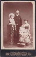 MAURI ACHILLE FOTOGRAFO DI S.M. IL RE D´ITALIA VIA ROMA PALAZZO BERIO NAPOLI: FAMIGLIA - Pubblicitari