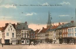 ATH - Grand Place - Maison du XVIe si�cle - carte coloris�e - Edit. Desaix, Paris - assez rare - 1922 - TOP