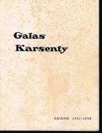 Théatre.   GALAS KARSENTY.  Saison 1949-50.   Avec Sophie Demaret. - Vinyles