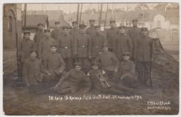 Soldaten-Portrait, Feld.-Infanterie-Bataillon 61, Karlsruhe, Feldpost, Mannheim,  Foto-Ak, Erster Weltkrieg