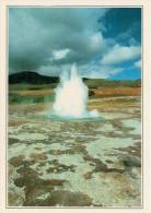 STROKKUR:   SORGENTI  CALDE     (NUOVA CON DESCRIZIONE DEL SITO SUL RETRO) - Islanda