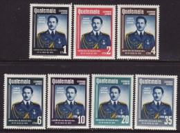 Guatemala #C223-29 F-VF Mint LH * President Armas - Guatemala