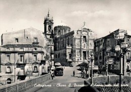CALTAGIRONE (CT) CHIESA S. FRANCESCO D´ASSISI VISTA DAL PONTE 1956 - Palermo