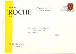 LGM FRANCE - PREO BLASON D'ANJOU SURCHARGE EPAISSE SUR LETTRE - Precancels