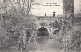 Cpa - Villecresnes - Le Pont , Route De Mandres  ( En L´état ) - Villecresnes