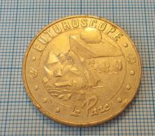 MONNAIE DE PARIS MEDAILLE OFFICIELLE FUTUROSCOPE LE PARC 2004 MEDAL MEDAGLIA moneta