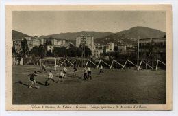 L8229 GENOVA SAN MARTINO D'ALBARO - STADIO CAMPO DA CALCIO ISTITUTO VITTORINO DA FELTRE - Genova (Genoa)