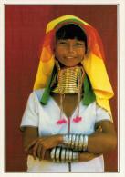 BIRMANIA  LOIKAW:  DONNE-GIRAFFA       (NUOVA CON DESCRIZIONE DEL SITO) - Myanmar (Burma)