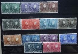 BELGIE   1925    nr. 221 - 233     Gestempeld      CW  65,00
