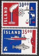 Iceland 1992 MNH/**/postfris/postfrisch Michelnr. 766-767 - 1944-... Republique