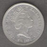 ISLE OF MAN 10 PENCE 1992 - Monete Regionali