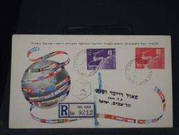 ISRAEL - ENVELOPPE DE 1950    A VOIR A ETUDIER  LOT P2854 - FDC
