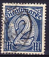 ALLEMAGNE - EMPIRE TIMBRE DE SERVICE 1920-22 YT N° S 27 Obl. - Service