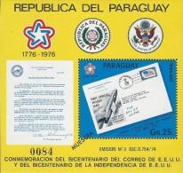 Paraguay US Independence Bicentennial 1976 MNH - Paraguay