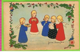 5 Engeltjes, Met Taart , Illustrator: James Pennyless, AFF N° 2302 - Pennyless, James
