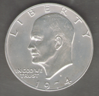 STATI UNITI DOLLAR 1974 - 1971-1978: Eisenhower