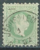 LEVANTE  - 1878 -  USED/OBLIT. VF - FRANZ JOSEPH - Mi 2II FEINER DRUCK - Yv  2A IMPRESSION FINE- Lot 11573 - Levant Autrichien
