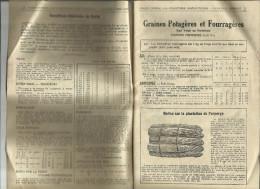 Catalogue Maraîcher VALLET CYPRIEN  LA CHALOTTIERE SAINT MATHURIN 1936/1937. - Sin Clasificación