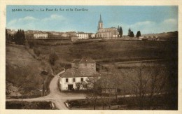 MARS - LOIRE  (42)  -  PEU COURANTE CPA DE 1949. - Otros Municipios