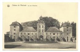 CPA - Ch�teau de WARFUSEE - Cour d'honneur  //