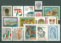 Italia  1975 - Yv  1254/1272**, 1278/1280**,   MNH  Cat. € 8,25 (2 Scans) - 6. 1946-.. República