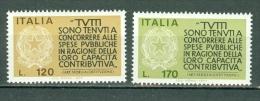 Italia  1977 - Yv  1297/1298**,   Mi 1565/1566**  MNH  Cat. € 0,75 - 6. 1946-.. República