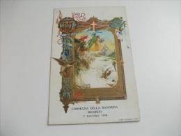 Pittorica Illustratore Maggiore Cecconi Consegna Della Bandiera  Ricordo 7 Giugno 1914 R. Guardia Di Finanza - Illustratoren & Fotografen