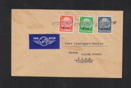 Lettre Stotzheim Pour Vienne - Marcophilie (Lettres)