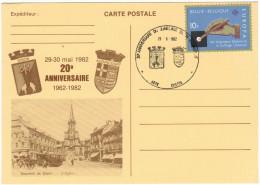 BELGIO - BELGIE - BELGIQUE - 1982 - 10F Europa Cept - Special Cancel 20e Anniversaire Du Jumelage Dison-Audincourt - ... - Souvenir Cards