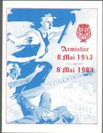 FRANCIA - France - 1983 - Ville De Saint-André - Commémoration Du 38éme Anniversaire De L'Armistice Du 8 Mai 1945 - Pubblicitari